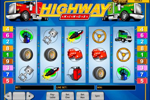 highway kings playtech slot