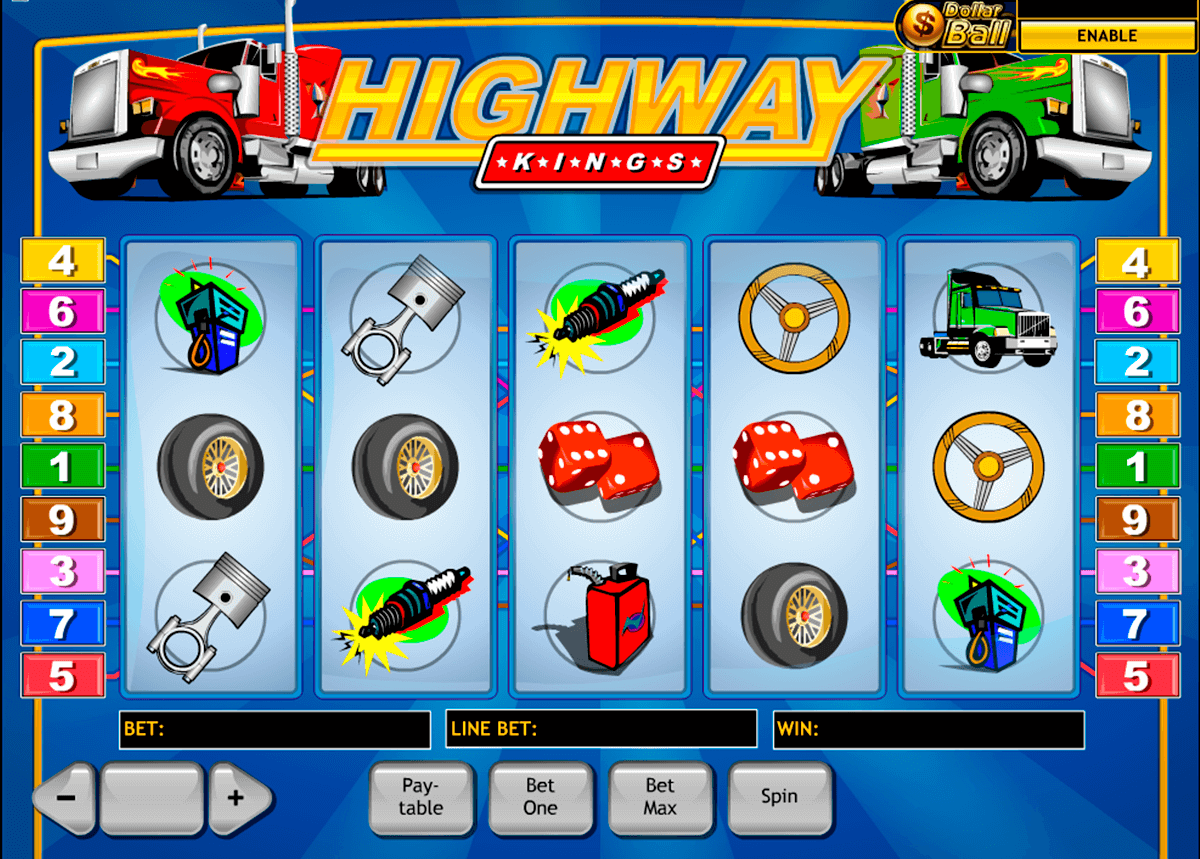 highway kings playtech slot