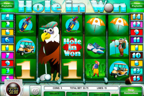 hole in won rival slot