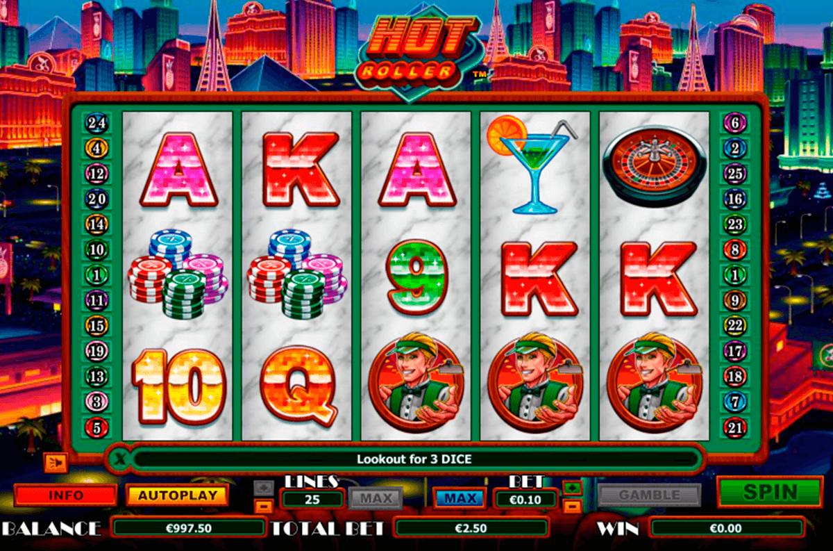 hot roller nextgen gaming slot