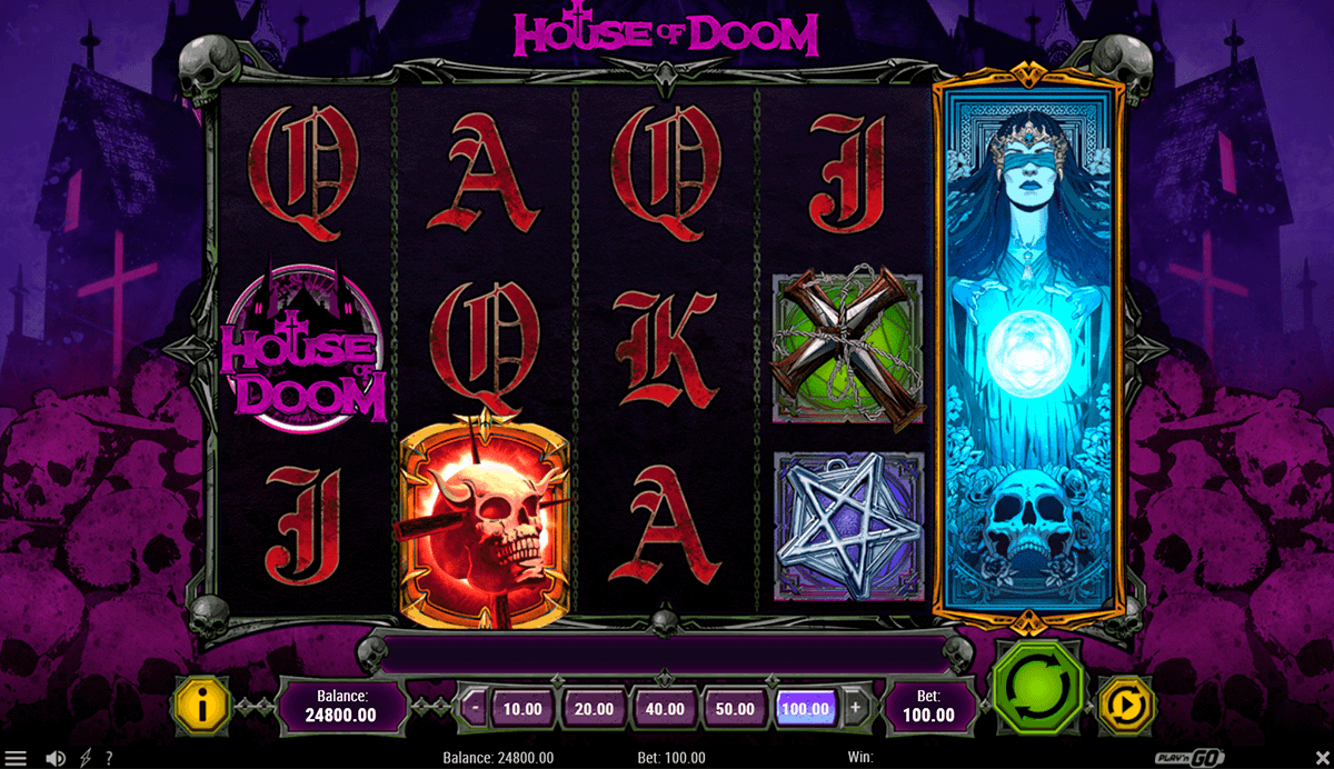 house of doom playn go slot