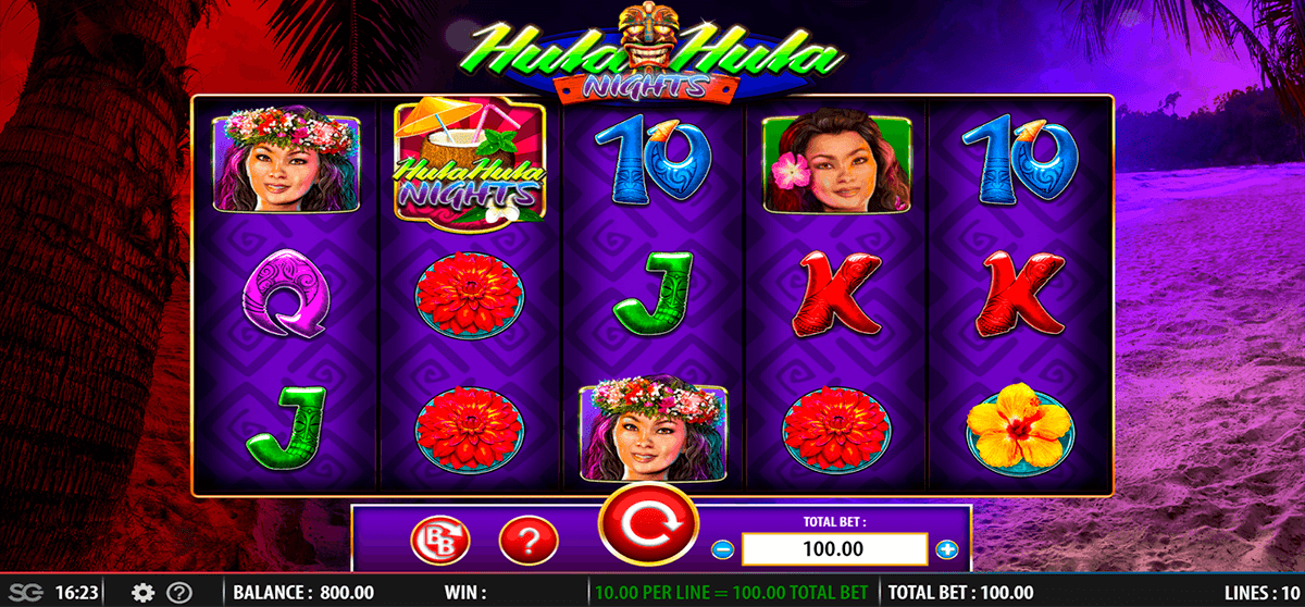 hula hula nights wms slot