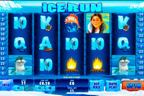 ice run playtech slot