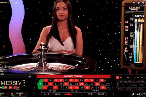 immersive roulette evolution gaming online