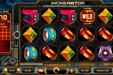 incinerator yggdrasil slot