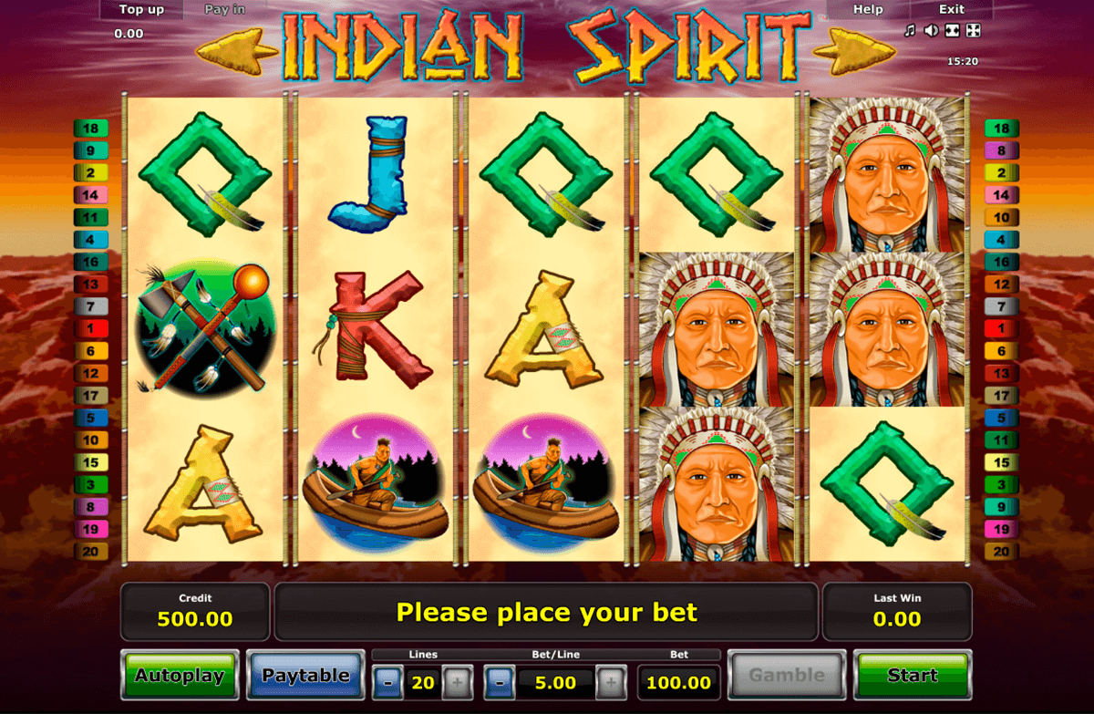 Spiele Native Indians - Video Slots Online
