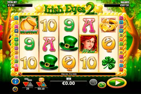 irish eyes  netgen gaming slot