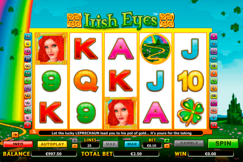 irish eyes netgen gaming slot