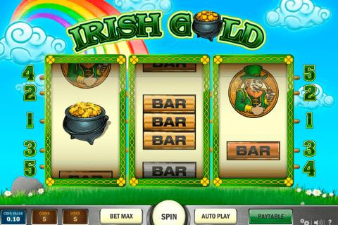irish gold playn go slot
