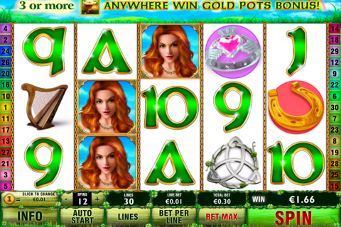 irish luck playtech slot