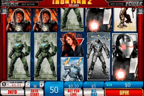 iron man   lines playtech slot