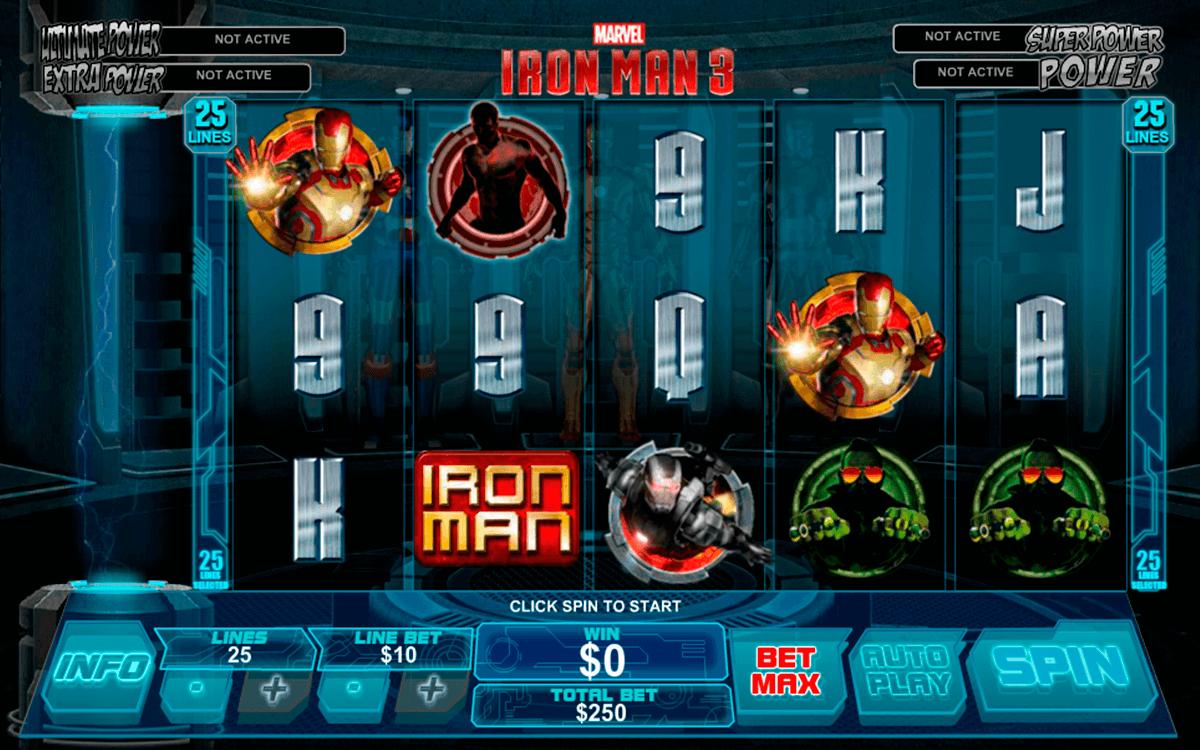 iron man  playtech slot
