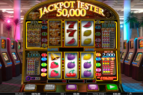 jackpot jester  netgen gaming slot