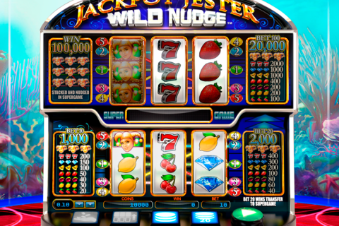 jackpot jester wild nudge netgen gaming slot