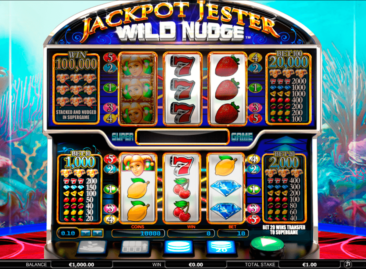 jackpot jester wild nudge nextgen gaming slot