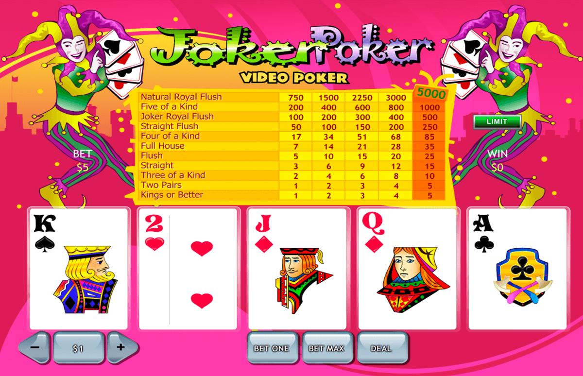 joker poker playtech