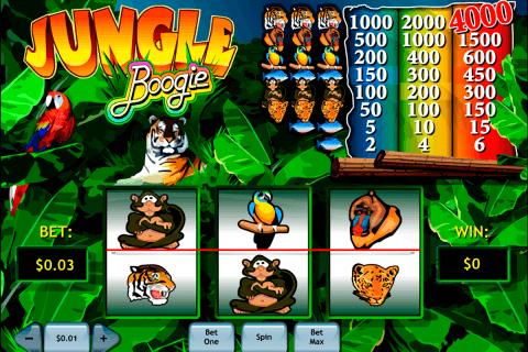 jungle boogie playtech slot