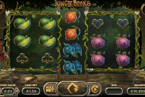 jungle books yggdrasil slot