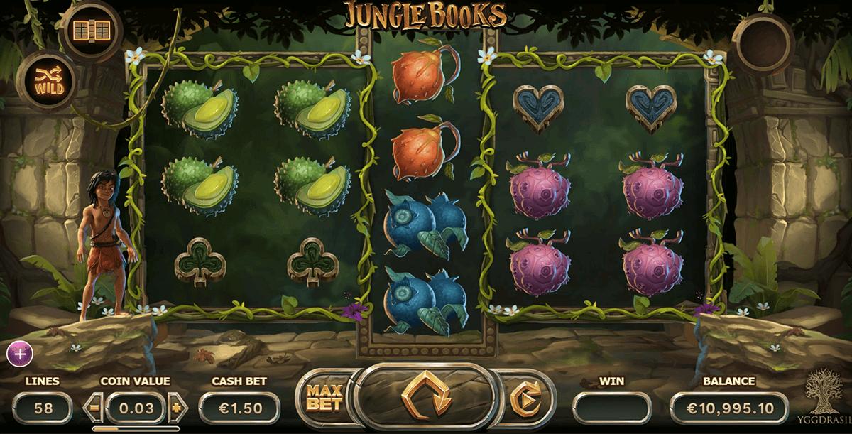 jungle books yggdrasil slot