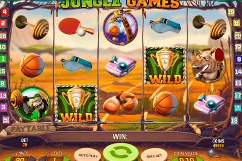 jungle games netent slot