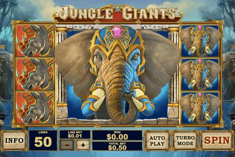 jungle giants playtech slot