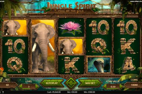 jungle spirit call of the wild netent slot