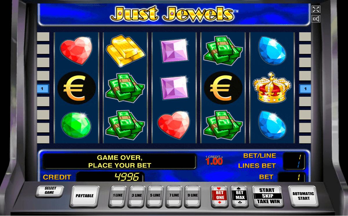 just jewels novomatic slot