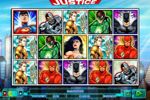 justice league netgen gaming slot