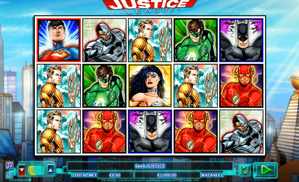justice league nextgen gaming slot