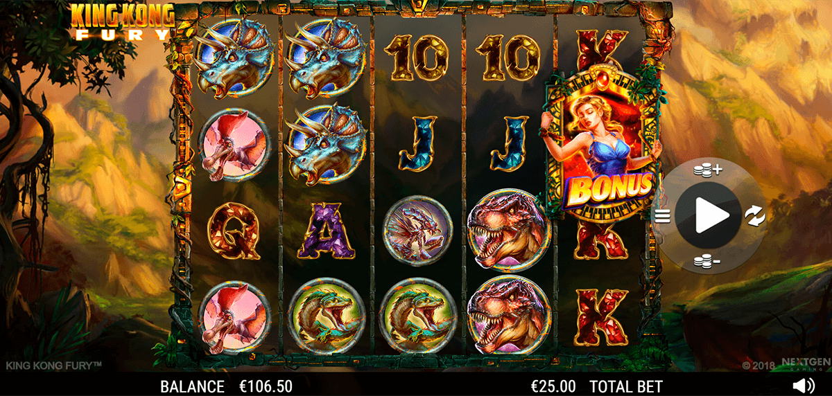 king kong fury nextgen gaming slot