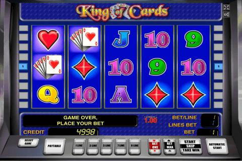 king of cards novomatic slot