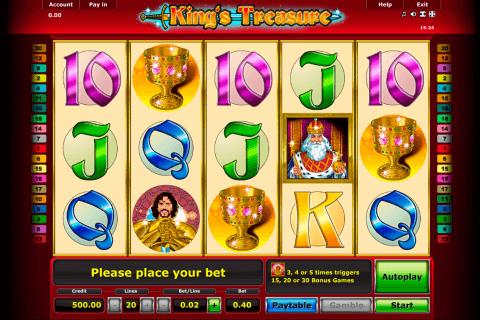 kings treasure novomatic slot
