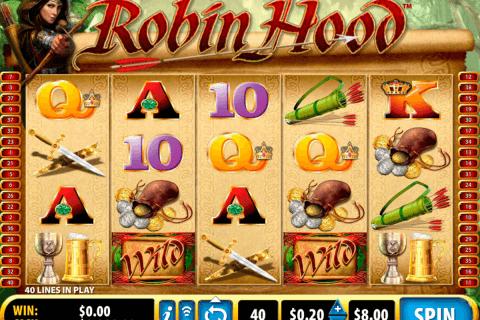 lady robin hood bally slot
