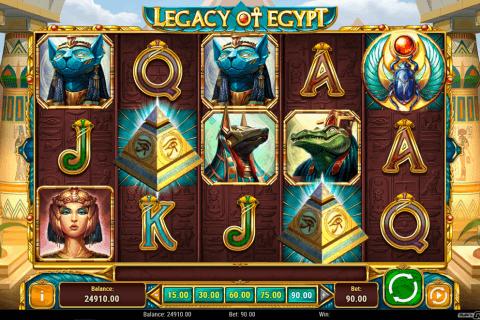 legacy of egypt playn go slot
