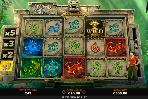 legend of the jaguar playtech slot