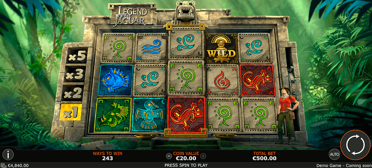legend of the jaguar playtech slot