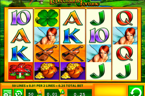 leprechauns fortune wms slot