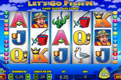 lets go fishn aristocrat slot