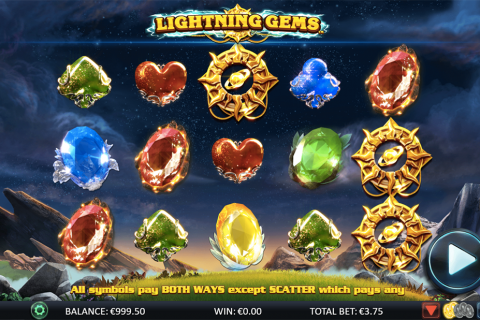 lightning gems netgen gaming slot
