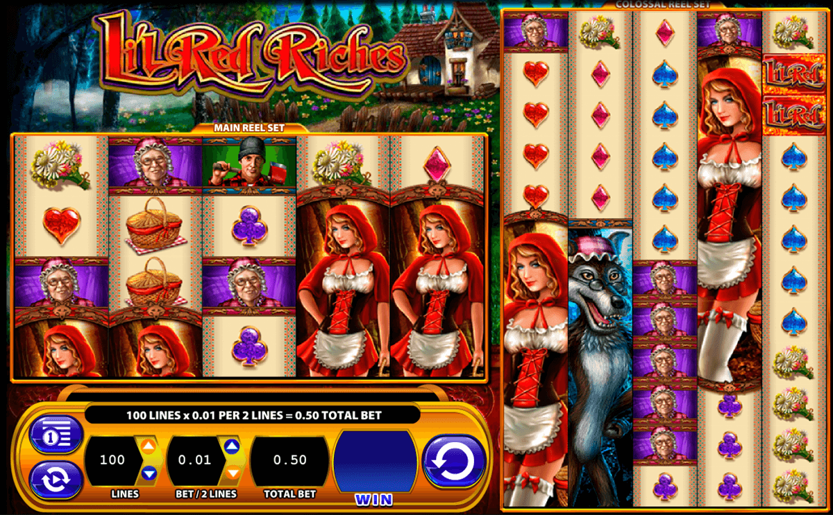 lil red riches wms slot