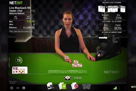 live common draw blackjack netent online