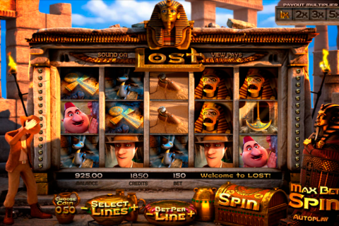lost betsoft slot