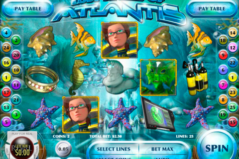 lost secret of atlantis rival slot