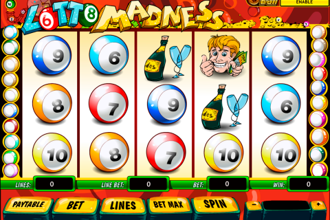 lotto madness playtech slot