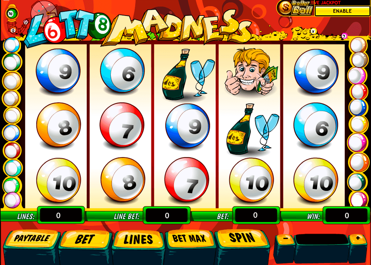 lotto madness playtech slot