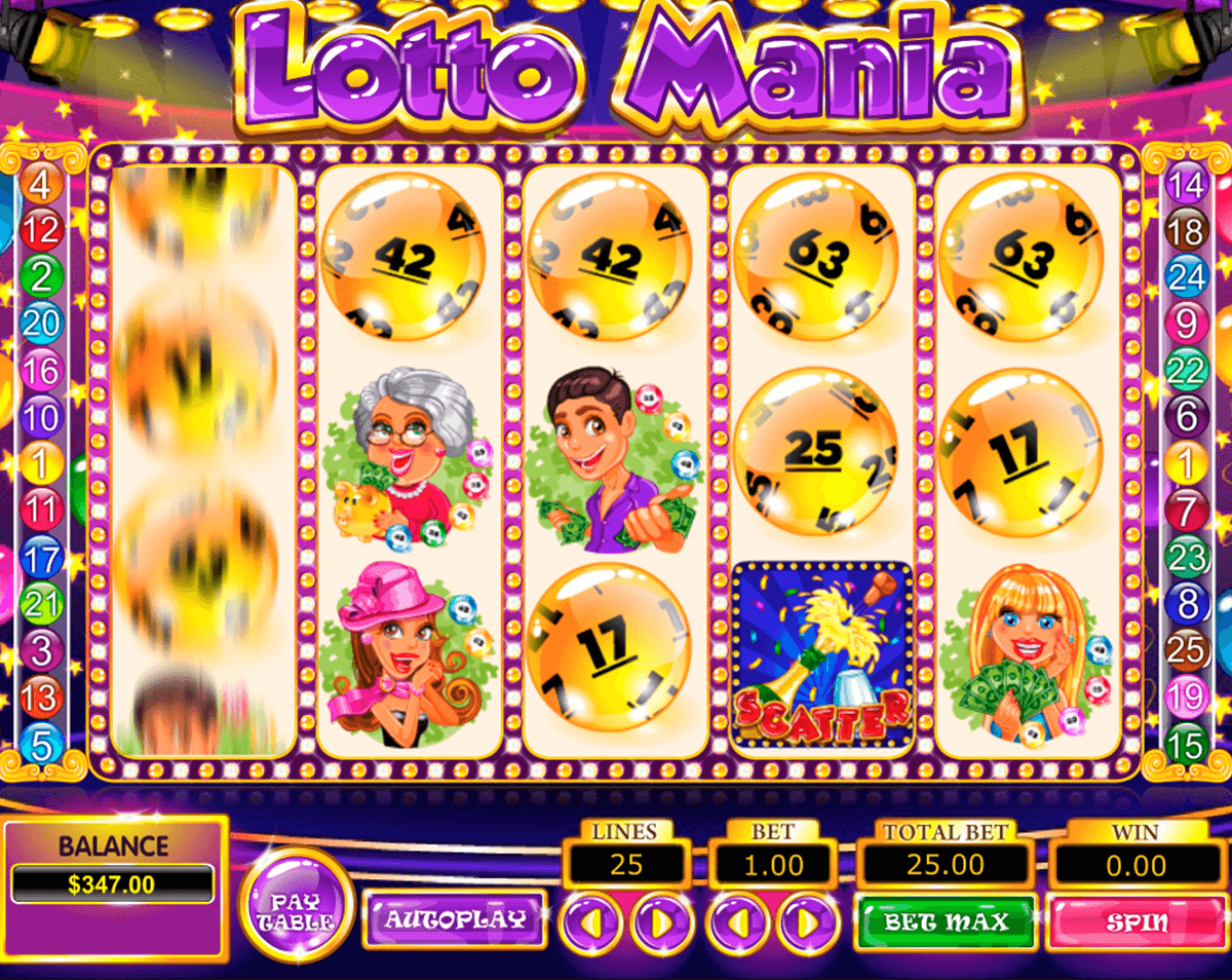 lotto mania pragmatic slot