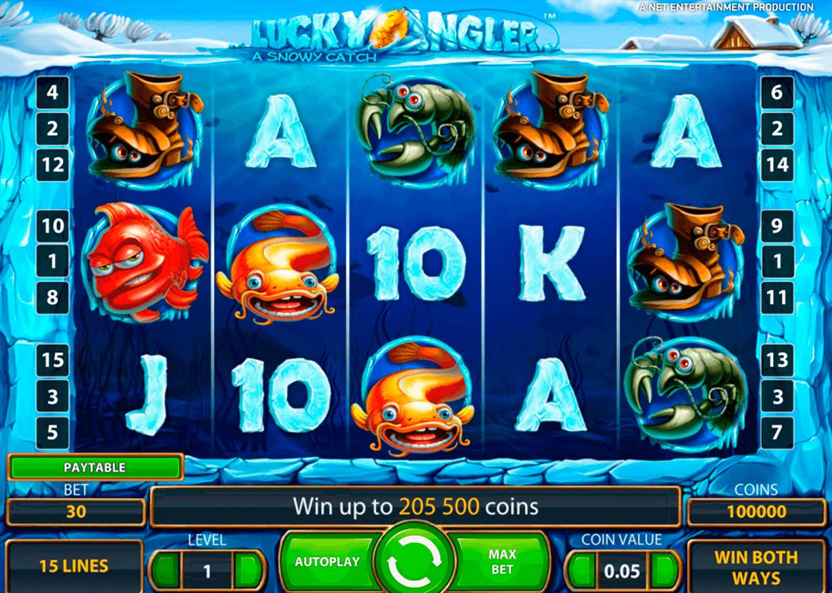 lucky angler netent slot