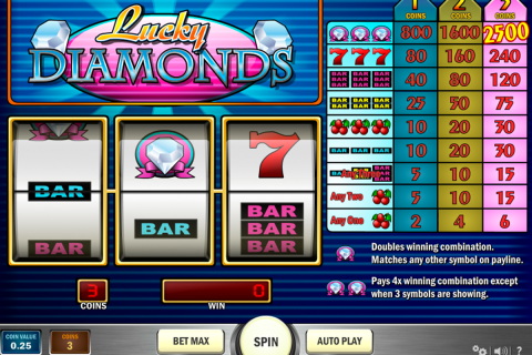 lucky diamonds playn go slot