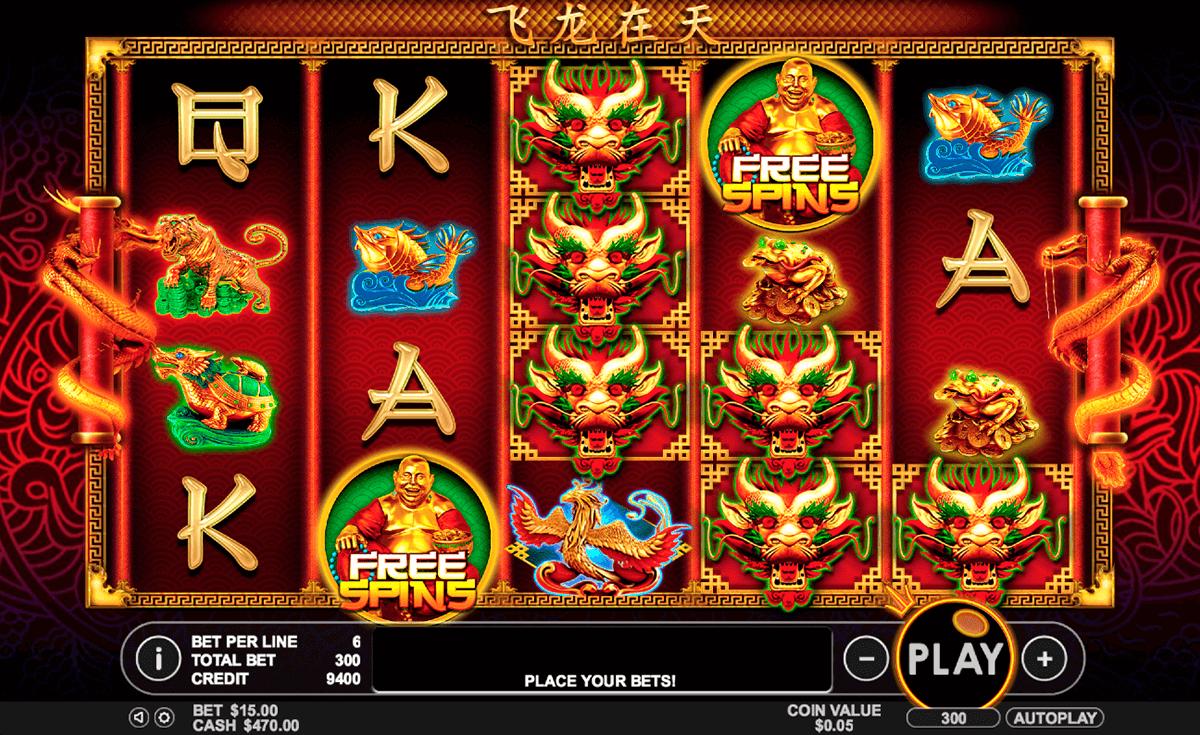 lucky dragons pragmatic slot