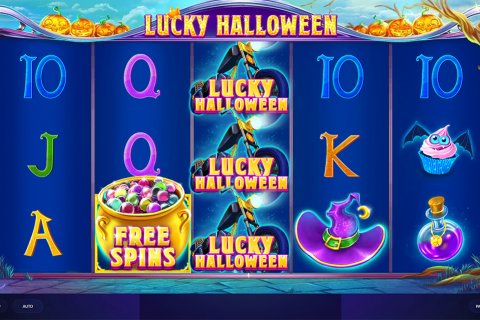 lucky halloween red tiger slot